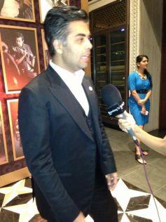 Karan Johar at GQ's Best Dressed Men 2013 Party