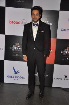 Ayushmann Khurrana at GQ's Best Dressed Men 2013 Party