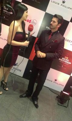 Neil Nitin Mukesh at GQ's Best Dressed Men 2013 Party