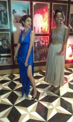 Aditi Rao Hydari and Nidhi Sunil at GQ's Best Dressed Men 2013 Party