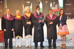 BIG B at 6th Annual Convocation of Whistling Woods International