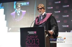 Amitabh Bachchan at 6th Annual Convocation of Whistling Woods International