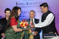 Poonam Dhillon at 9th Indo American Corporate Excellence Awards 2013