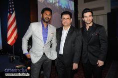 Prabhu Deva, Kumar S Taurani and Girish Kumar