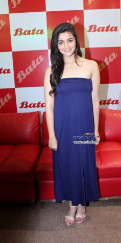 Alia Bhatt at Bata India's Largest Store Launch
