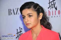 Alia Bhatt at Unveiling of fashion magazine Harper's Bazaar 2013