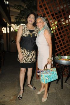 Leonys Pereira with Monica Vaziralli during launch of Cafe B9