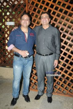 Prashant Sharma with Sanjay Vazirani during launch of Cafe B9