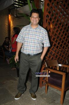 Viren Shah during launch of Cafe B9