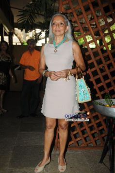 Monica Vaziralli during launch of Cafe B9