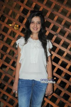 Amy Billimoria during launch of Cafe B9