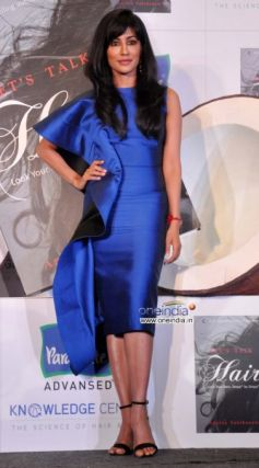 Chitrangada Singh launches of Dr Aparna Santhanam's book Let's talk Hair