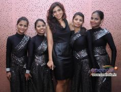 Aanchal Gupta with Girls from Dharavi at Art in Motion dance studio annual festival 2013