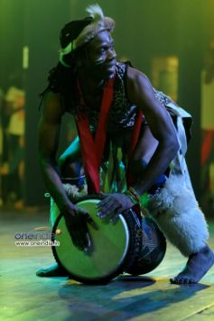 African Band Performing at Art in Motion dance studio annual festival 2013