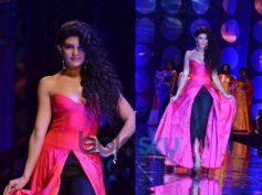 Bright Pink Fusion Gown