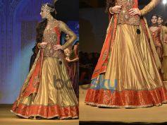 Full-sleeved Anarkali Choli