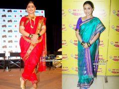 Navari Saree Style