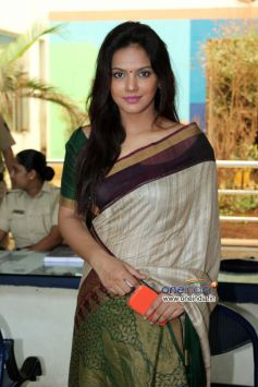 Neetu Chandra at Free cancer check-up clinic conducted by the CPAA