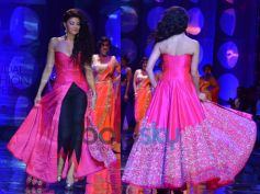 IBFW'13: Jacqueline Fernandez In Fusion Gown