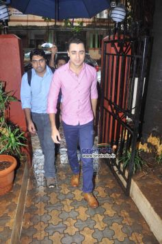 Imran Khan arrive at Stardust August 2013 cover launch