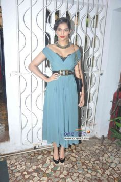 Sonam Kapoor clicked during Stardust August 2013 cover launch