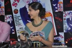 Sonam Kapoor attended the Stardust August 2013 cover launch