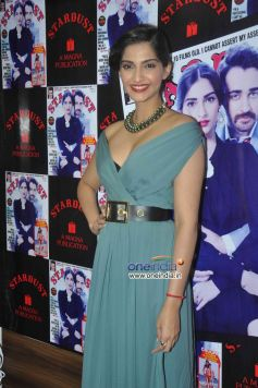 Sonam Kapoor in Gucci Pre-Fall13 dress