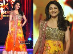 Madhuri's Yellow Gown