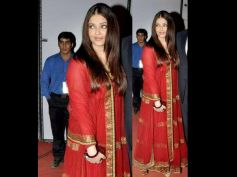 Ash's Lehenga-Style Red Gown