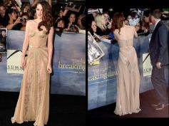 Golden Sheer Gown