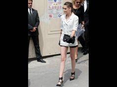 Kristen Stewart At Chanel Show