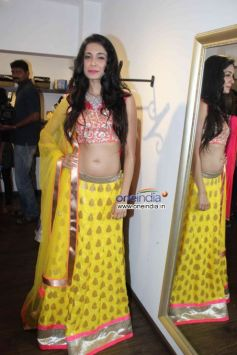 Sarah Jane Dias at Launch of fashion designer Shouger Merchant's store