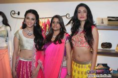 Swara Bhaskar and Sarah Jane Dias at Launch of fashion designer Shouger Merchant's store