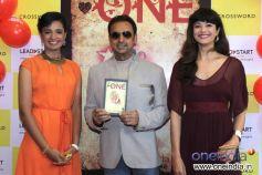 Pooja Batra & Gulshan Grover with Shriya Sekhsaria at Launch of Shriya Sekhsaria's book One