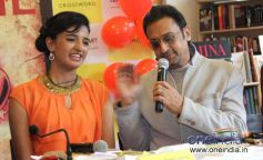 Shriya Sekhsaria & Gulshan Grover at Launch of Shriya Sekhsaria's book One