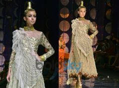 Golden Churidar Kameez