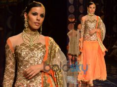 Orange Lace Lehenga
