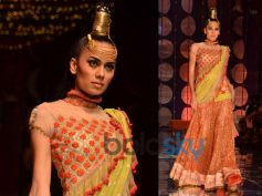 Yellow n Orange Lehenga