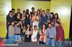 Aditi Rao Hydari with team O&M Advertising Agency of the Year award winner