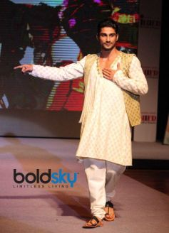 Vibrance fashion show by National Institute of Fashion Design