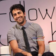 Ayushmann Khurrana present at interactive session with students Follow Your Heart