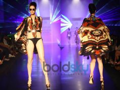 Black, Cream n Orange Cape