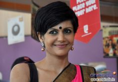 Mandira Bedi at FedEx's Raksha Bandhan press meet