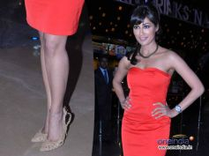 Chitrangada In Strapless Red