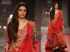 Orange n Red Lehenga