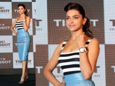 Deepika In Grey Body Con