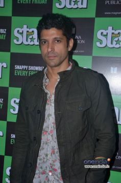 Farhan Akhtar at Unveiling of Star Week magazine September 2013 cover