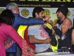 Prateik Babbar during Relaunch of Golds Gym Bandra