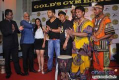 Relaunch of Golds Gym, Bandra