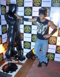 Bollywood actor Prateik Babbar during the relaunch of Golds Gym